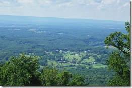 Warren County VA from the Skyline Drive