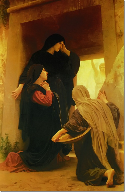 The Three Marys at the Tomb by Adolphe William Bouguereau
