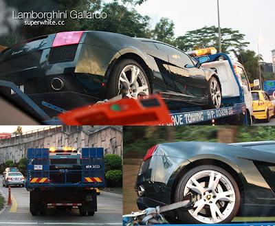 The first time I saw Lamborghini Gallardo