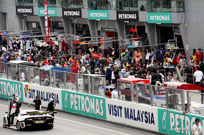 Super GT International 2009 Sepang Day 2: Start Procedure