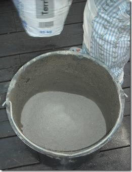betong i bøtta