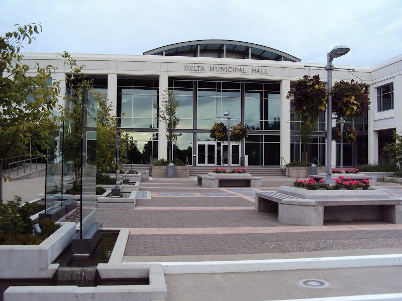 Delta City Municipal Hall British Columbia