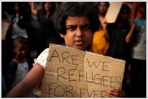 Tamil Refugee Girl