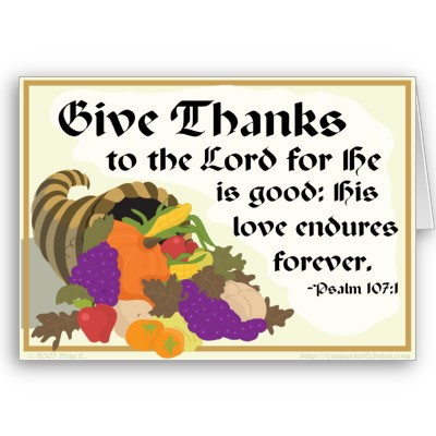 psalm2004.com » Blog Archive » Give Thanks to the Lord by Ellen ...
