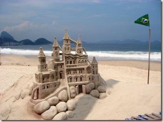 impermanencia - castelo de areia Copacabana-2