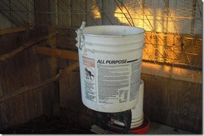 new feed bucket