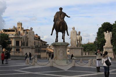 Piazza del Campidoglio - Roma - Itália