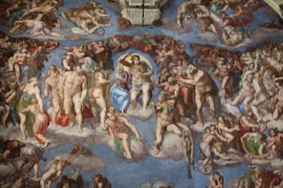 Museus do Vaticano - Capela Sistina - O Juízo Final