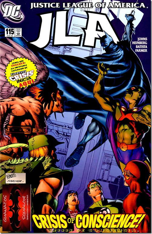 44 - JLA #115 (Crisis of Conscience 1)