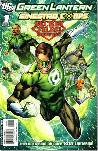 25 Green Lantern & Sinestro Corps - Secret Files and Origins