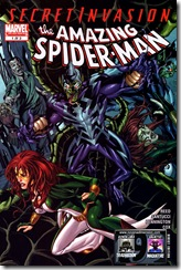 P00084 -  083 - Secret Invasion - Spider-Man - Brand New Day #1