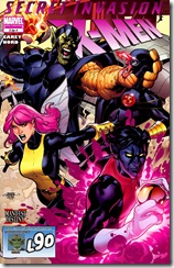 P00105 -  104 - Secret Invasion - X-Men #2
