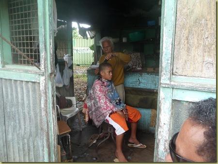 The Barbershop--Elder Heimuli's barber