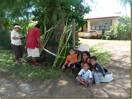 Sugar Cane Vendors