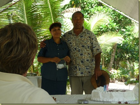 President and Sister Nau welcome the missionaries to their Heaven on Earth