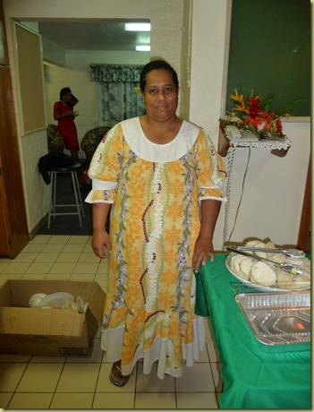 Sister Kioa, a member of our ward and Stake Primary President