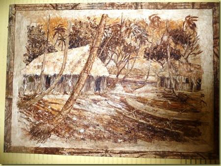 Tapa cloth artwork