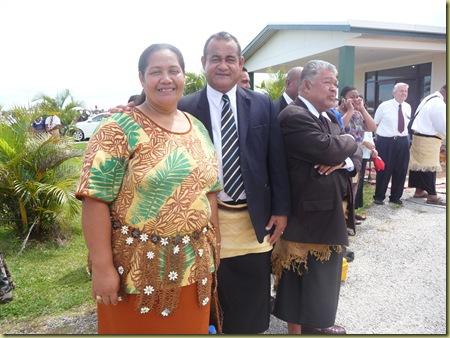 President and Sister Fehoka