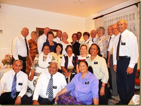 Senior Missionaries at Fireside