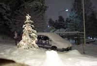 Nu har första snön kommit, och det blev mer...