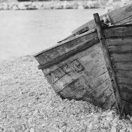 by Nikša Đuretek - Transportation Boats ( crikvenica, croatia, old boat )