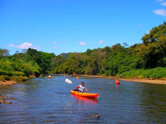 Kayaking in Costa Rica