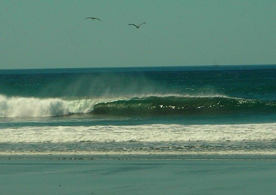 Nobody Surfing Costa Rica