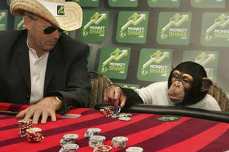your monkey will always be your second player.