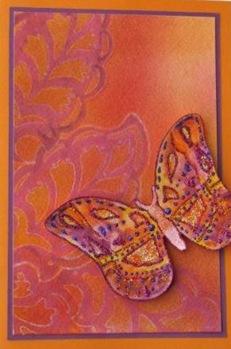 Lynn Roberts Foam Stamp Butterfly