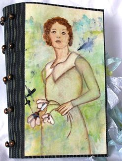 LRoberts Altered Fabric Collage Book 1 cover