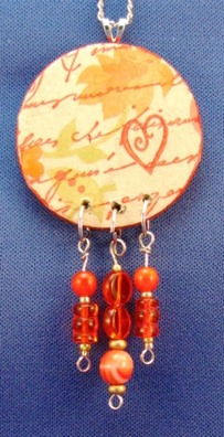 2011 02 LRoberts Exploring Image Transfers Beaded Heart Necklace