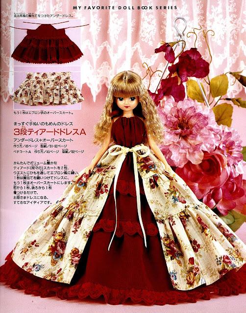 Кукле платье сшить своими руками 92