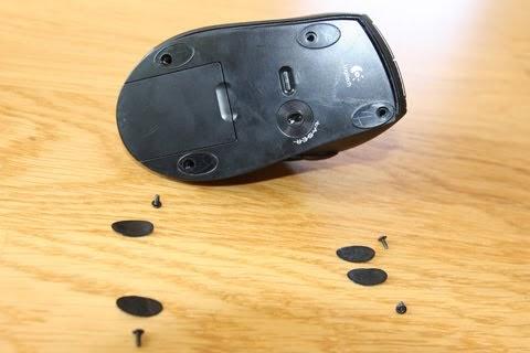 Rigelt Logitech Mouse Click Not Working