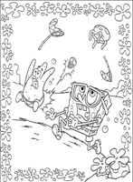 dibujos para colorear de Bob esponja