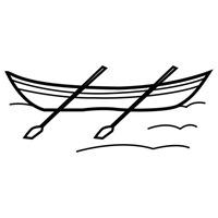 jugarycolorear.com- Barca de remos