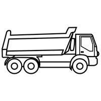 jugarycolorear.com- Camión de obras