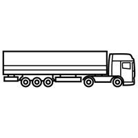 jugarycolorear.com- Camión trailer