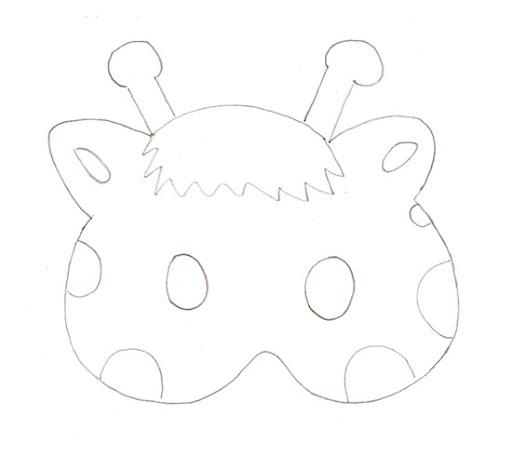 Mascaras de foami patrones - Imagui