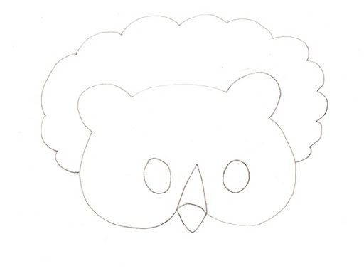Mascara de elefante en foami - Imagui