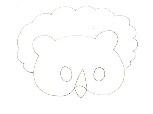 Como hacer mascara de oveja en foami - Imagui