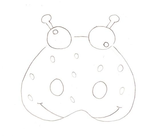 Máscaras en foami de animales con plantillas | Jugar y colorear