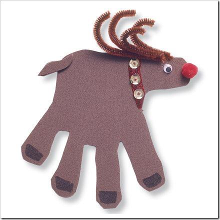 manualidades navidad huella manos (11)