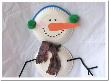 Manualidades navidad para ni os adornos hechos con platos for Decoracion navidena para ninos