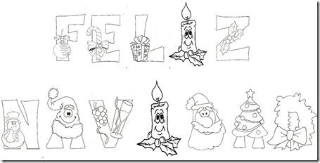 Cartel Feliz Navidad