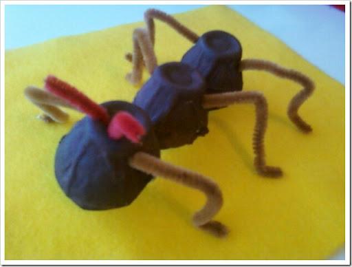 Gallinas hechas de fomi para niños - Imagui