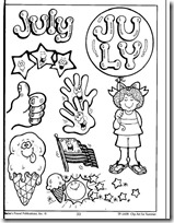 summer- verano, dibujos para colorear (27)
