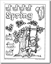primavera jugar y colorear (1)
