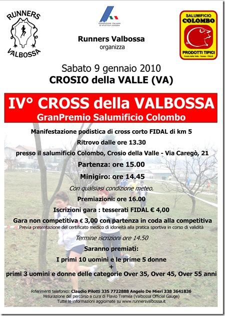 Cross della valbossa 2010 A4