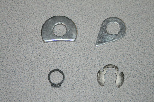 Teardrop and D-Style retainers