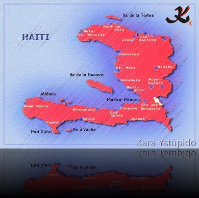 KY - Mapa do Haiti